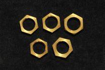 Lot de 5 écrous 6 pans 10.85 X 1.33mm