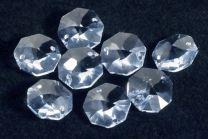 Octogone Cristal Swarovski Aquamarine