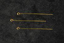 épingle laiton avec anneau de fixation