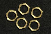 Lot de 5 écrous 6 pans 13 X 1mm