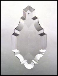 Plaquette en Cristal Simple Biseau N°4