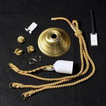 Cordelière pour vasque or