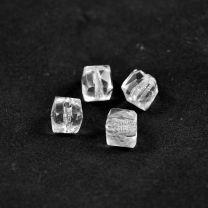 Perles carrées en cristal