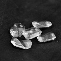 Rectangle taillé en cristal