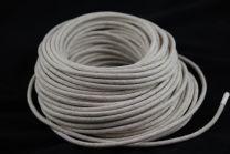 Câble électrique textile lin