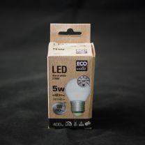 Ampoule sphérique E27, led 5W
