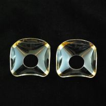 Lot de 2 coupelles en verre N°34