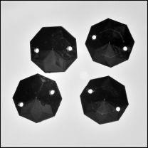 Octogone noir